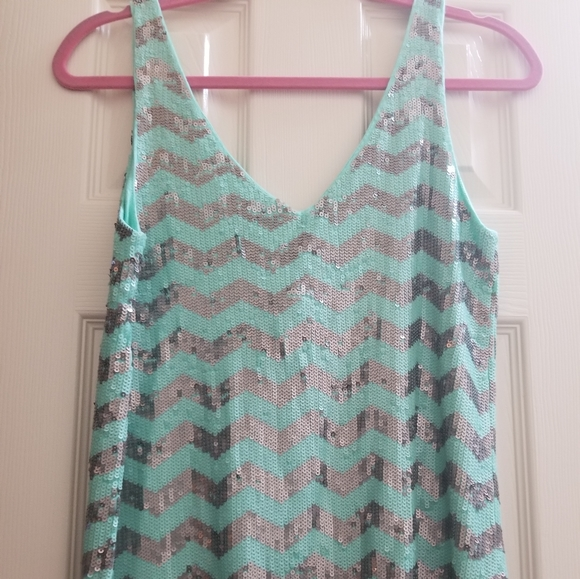 Great for day and Night cute Sequin shirt